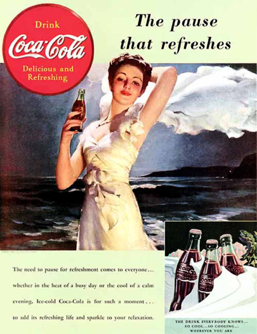 Coca cola ads images amp pictures becuo - Gil Elvgren Top Image Maker Pin Up Glamour Master