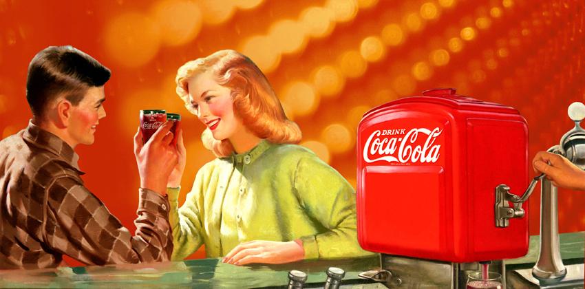 Buddha bar coca cola art gallery - Nevera coca cola retro ...