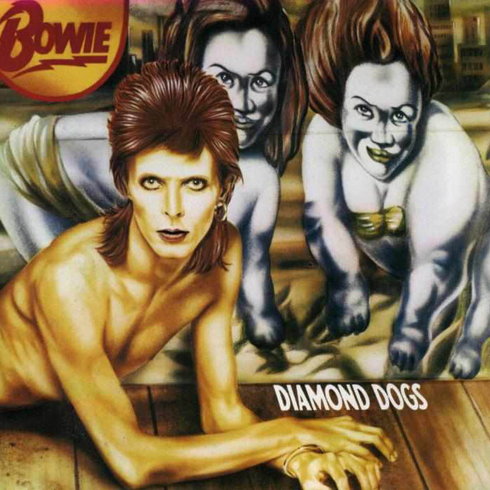 David Bowie's Diamond Dogs Album Artwork by Guy Peellaert