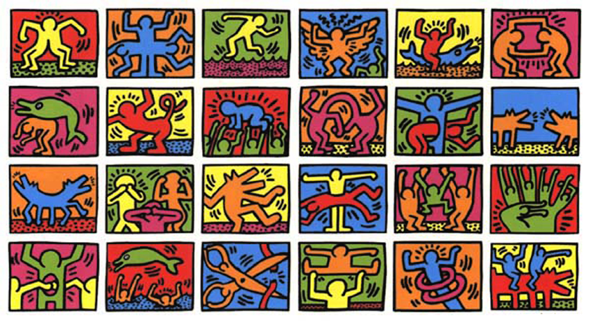 A Cpy Keith Haring - Lessons - Tes Teach