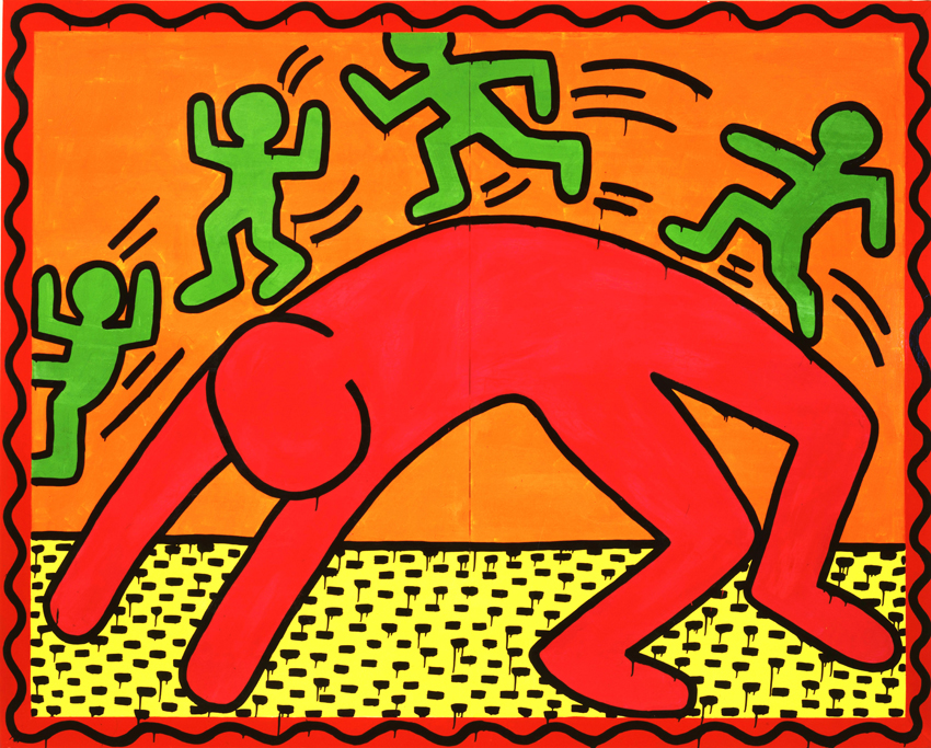 Häufig Keith Haring, Art For All People | Coca-Cola Art Gallery EF59