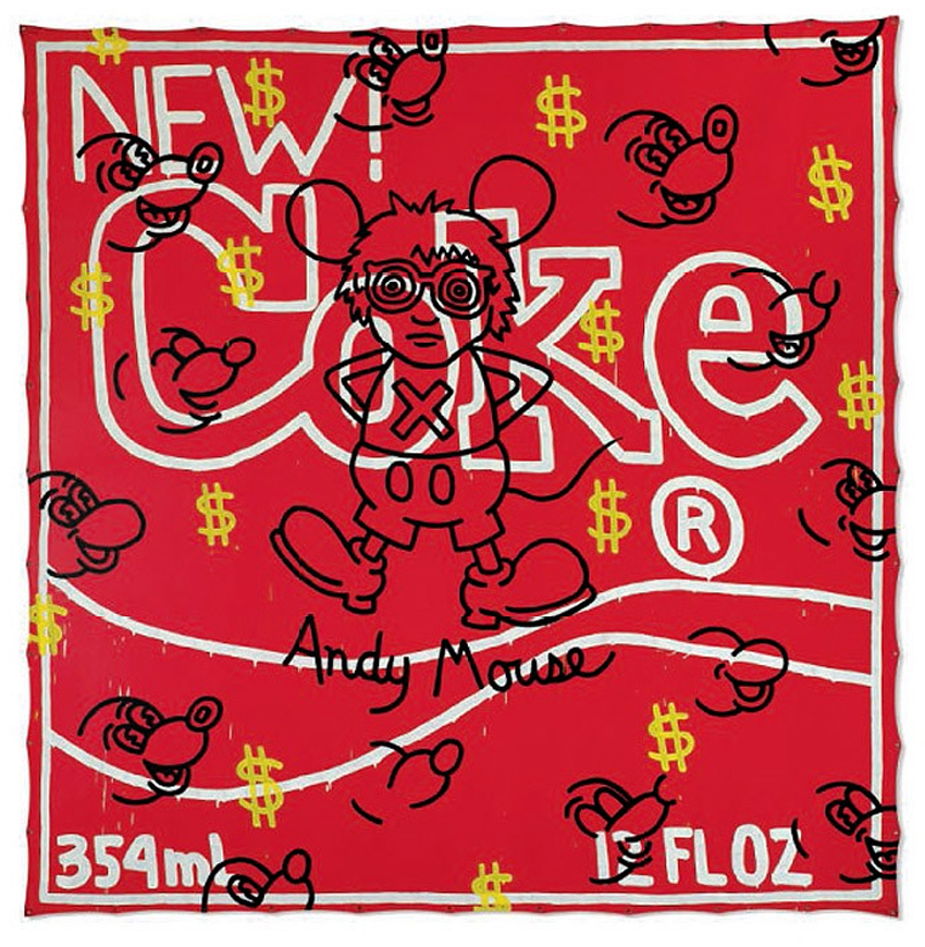 Hervorragend Keith Haring, Art For All People | Coca-Cola Art Gallery MA12