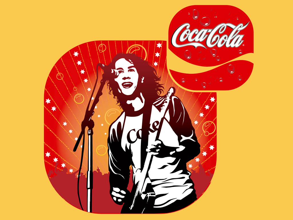 Exclusive Coca-Cola Music Wallpapers | Coca-Cola Art Gallery